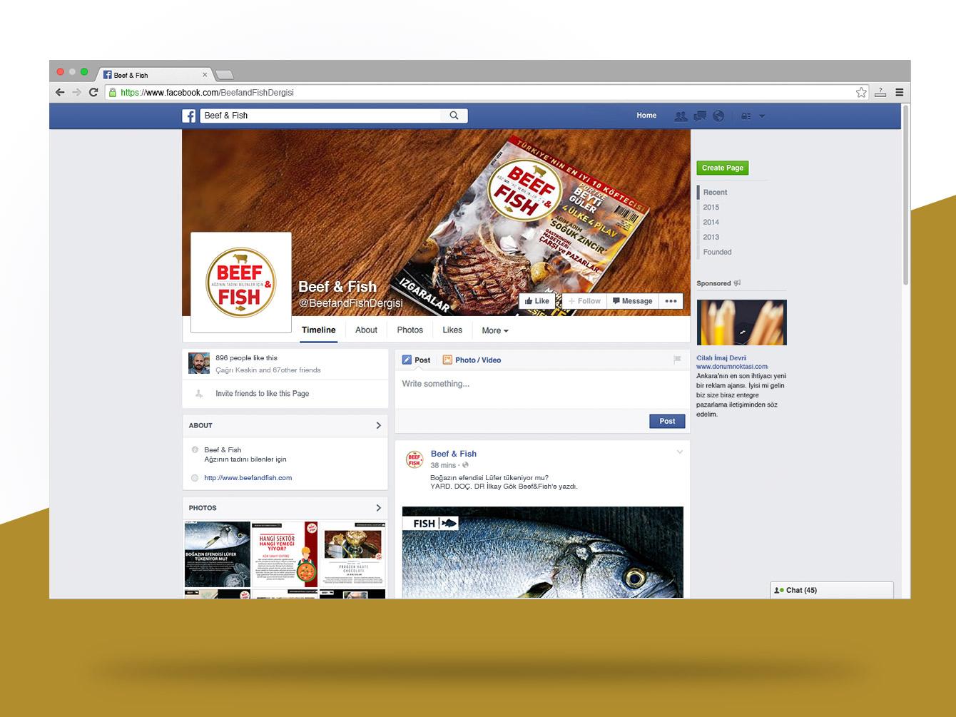 Beef & Fish Facebook
