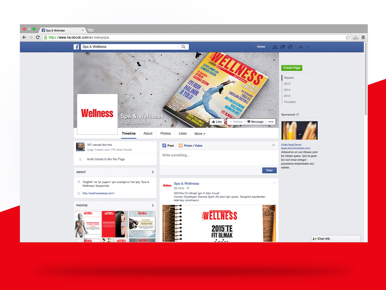 Spa&WellnessFacebook