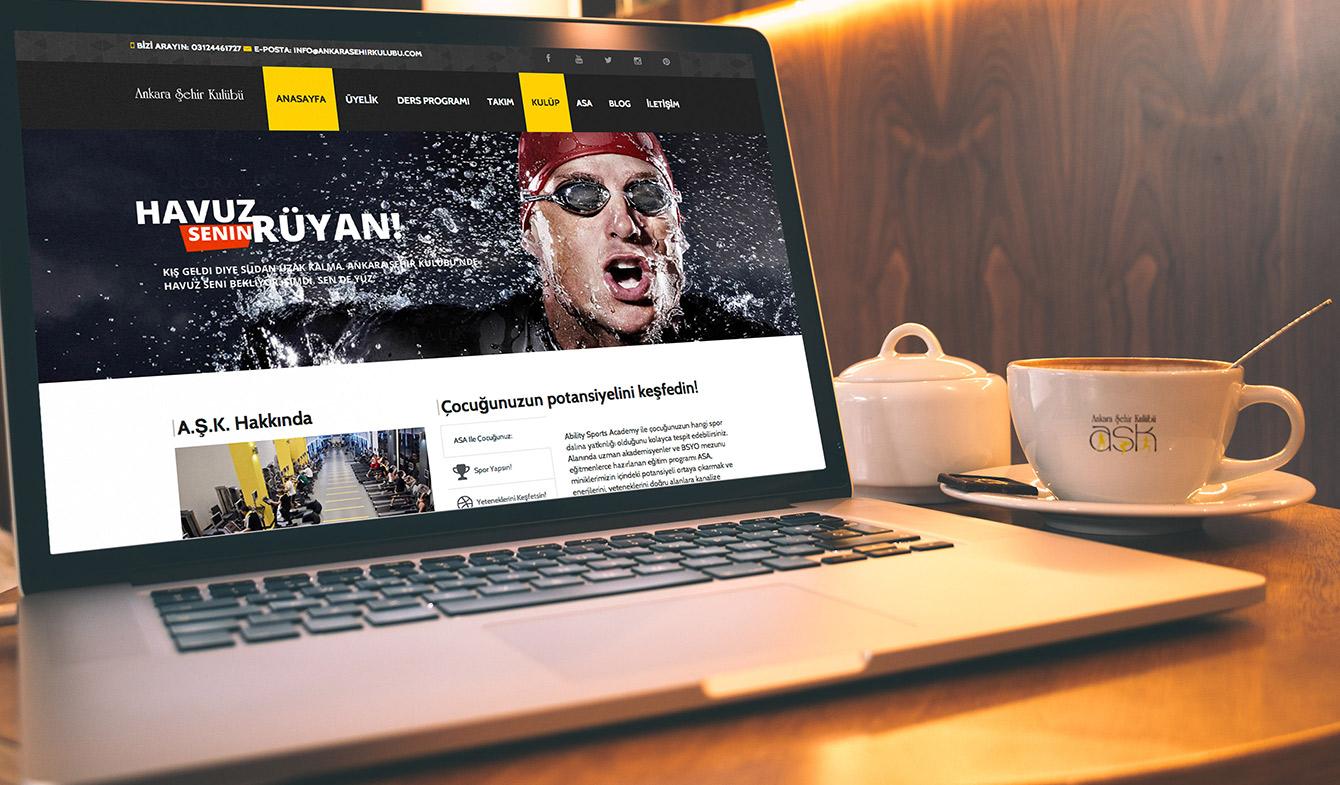 Ankara Şehir Kulübü Web Sitesi