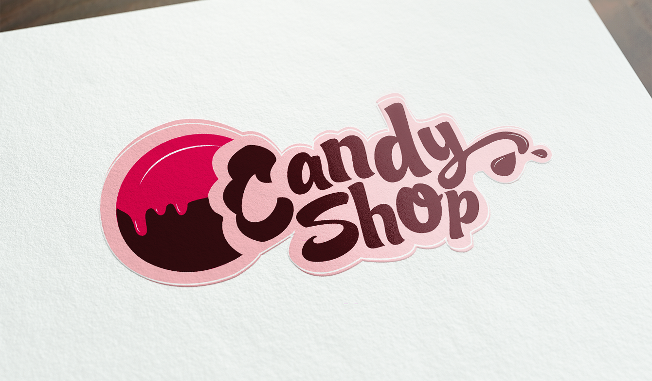 Candy Shop Logotype