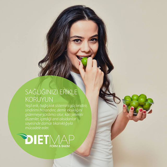 Diet Map Standart İçerik