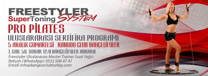 Free Styler Pro Pilates Banner