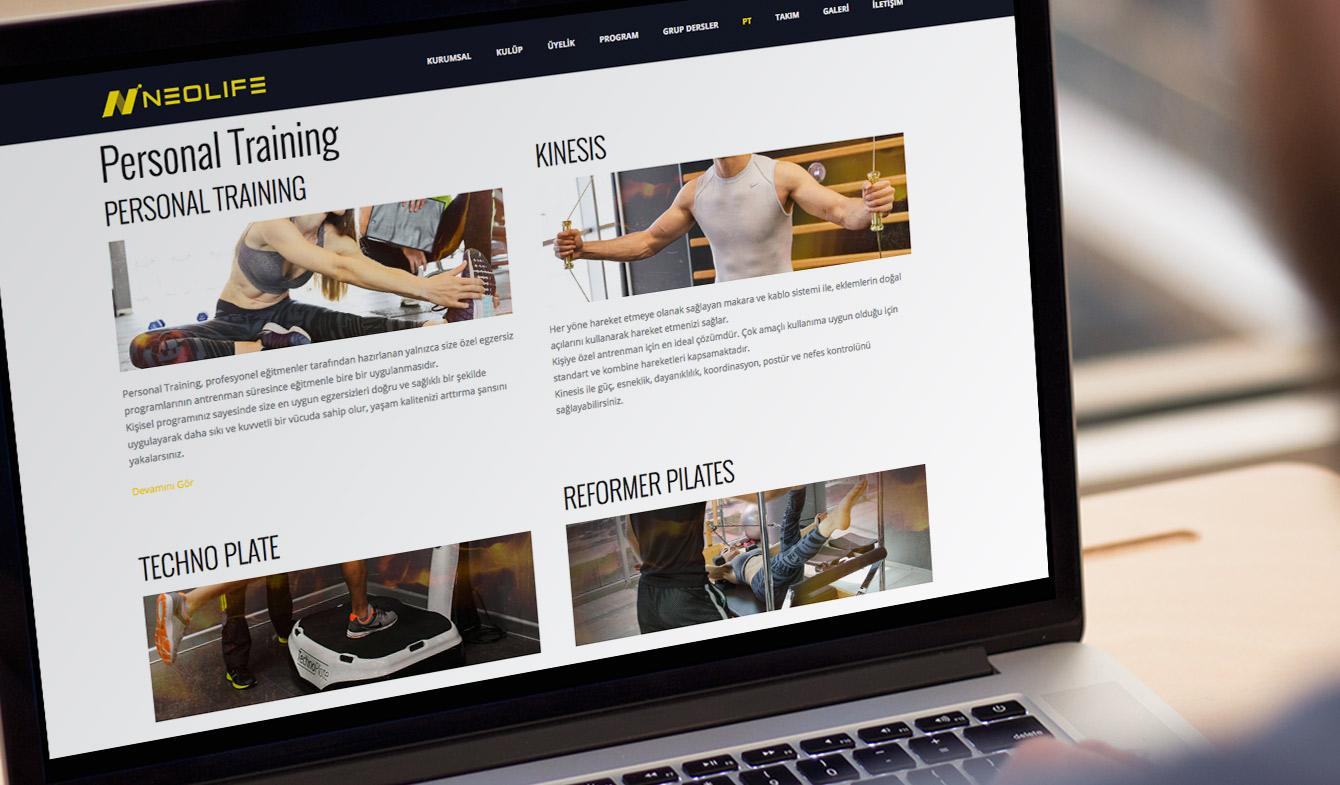 Neolife Club Web Sitesi